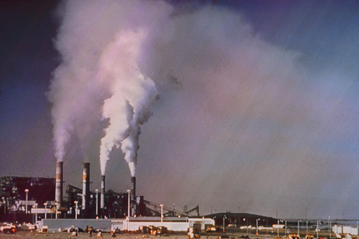 Is there an association between air pollution and severity of COVID-19?