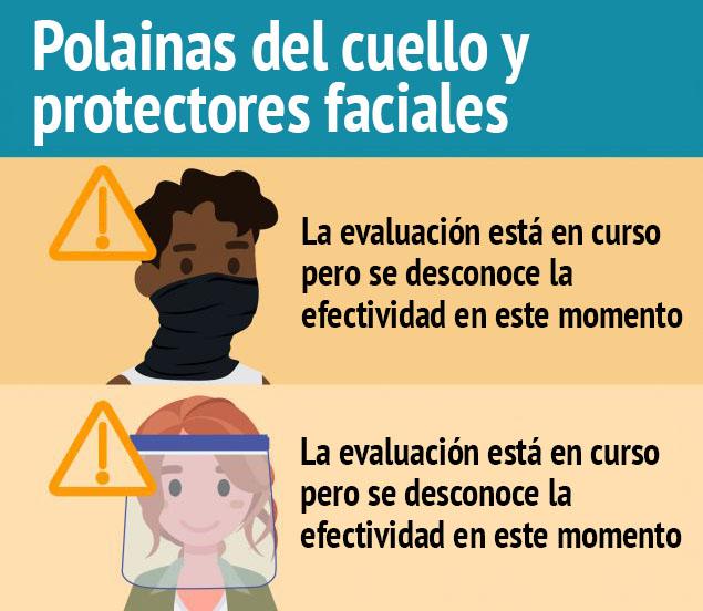 Graphica polainas del cuello y protectores faciales