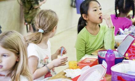 Taking longer for lunch is good for children