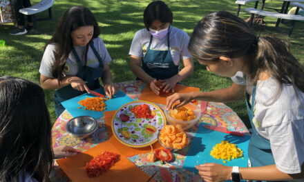 Veggie IQ's Youth Scientists aim to improve the health of the community